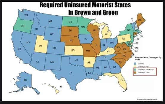 state uninsured requiments