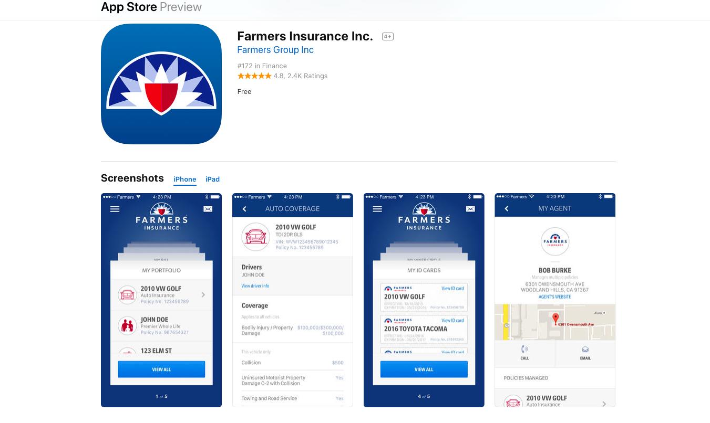 app store farmers app screenshot