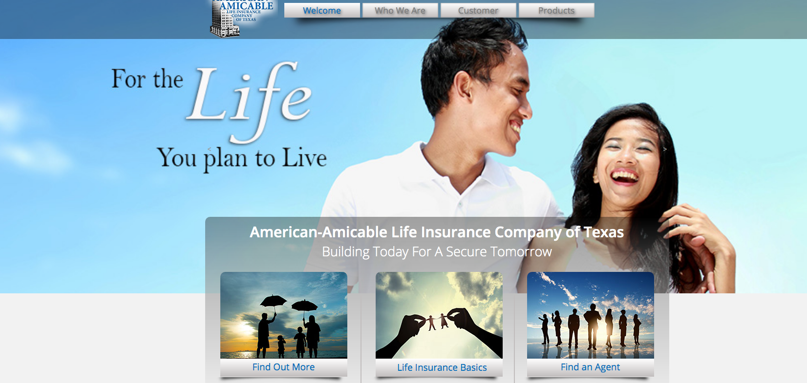 American Amicable Home Page