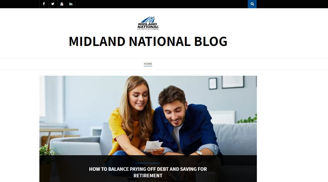 Midland National's blog.