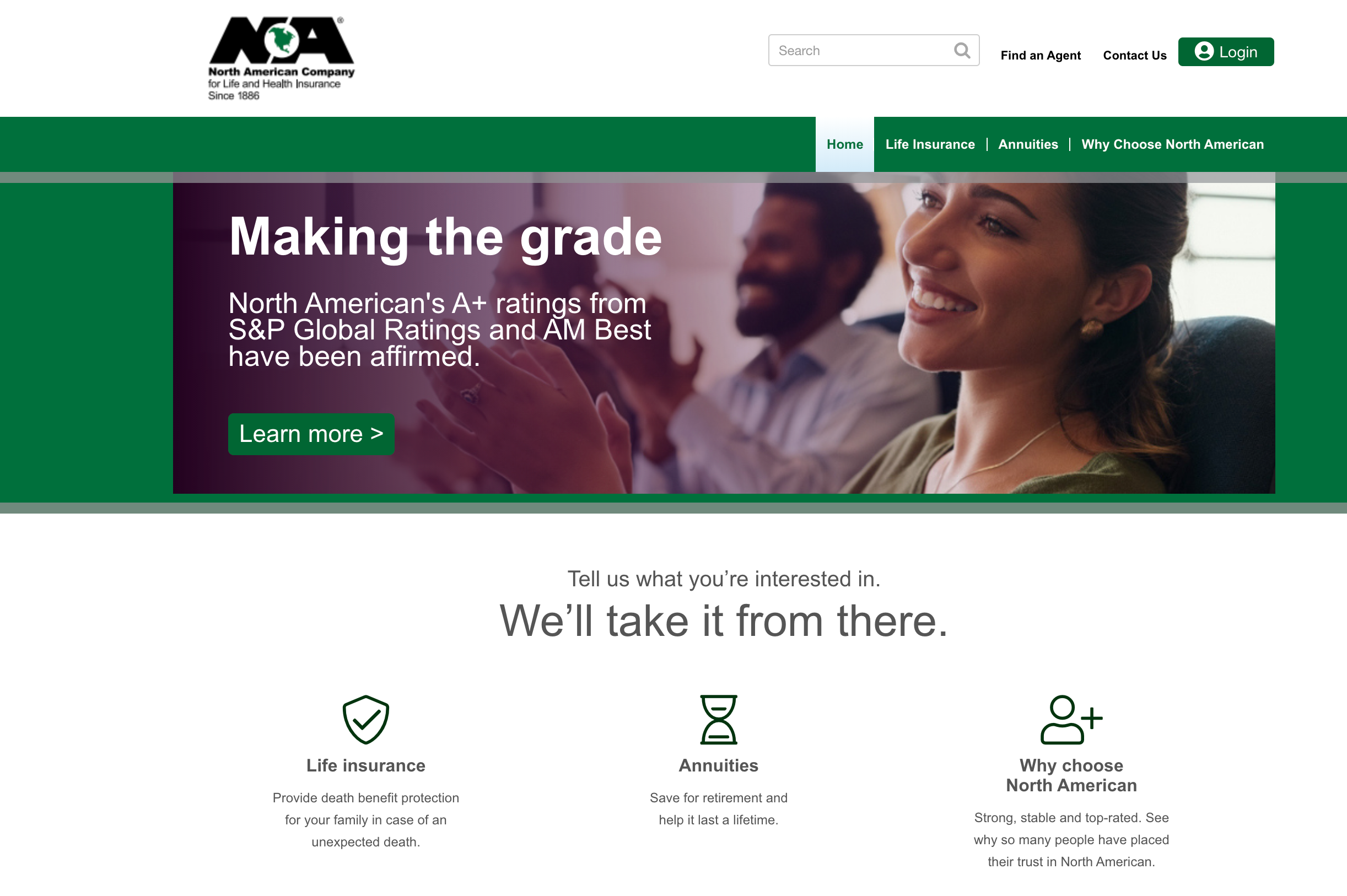 North American Company Home Page