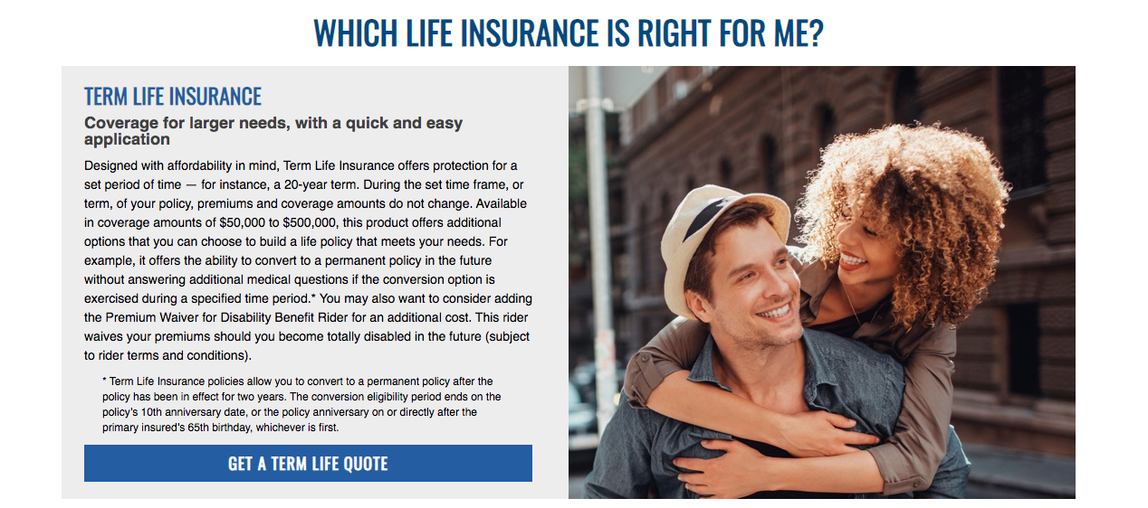 American Family Insurance Life Plan Info Page