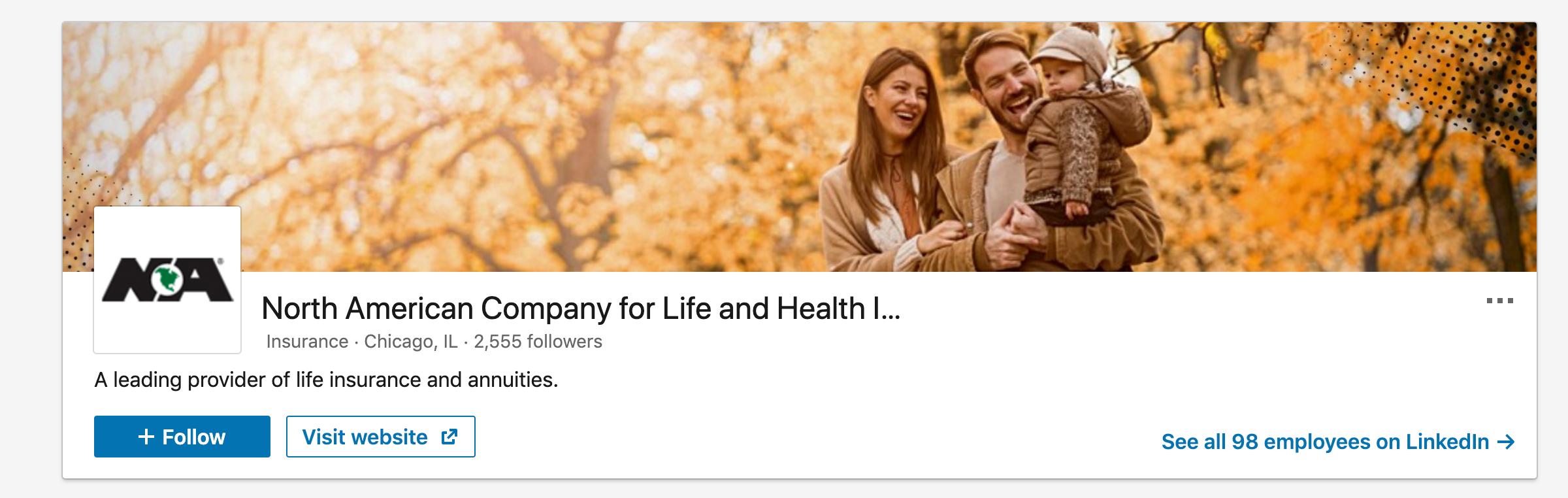 North American Company LinkedIn
