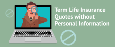life insurance no personal information