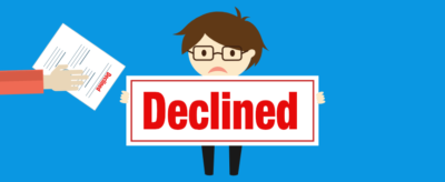 life insurance application declined