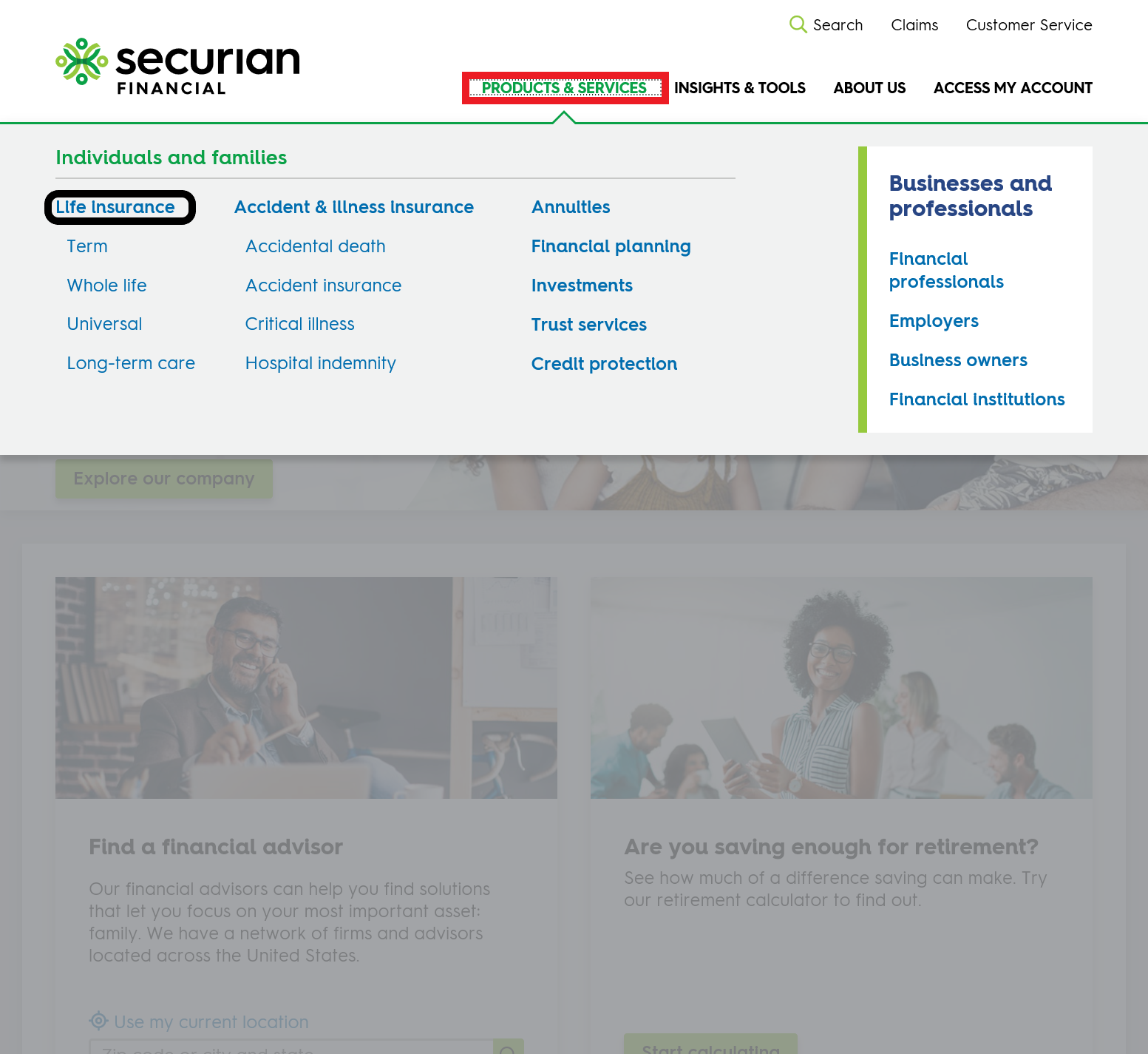 Securian Get a Quote