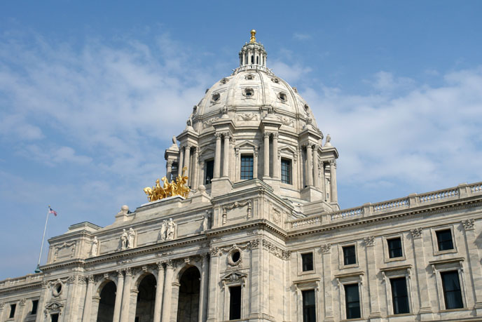 St. Paul state capital building