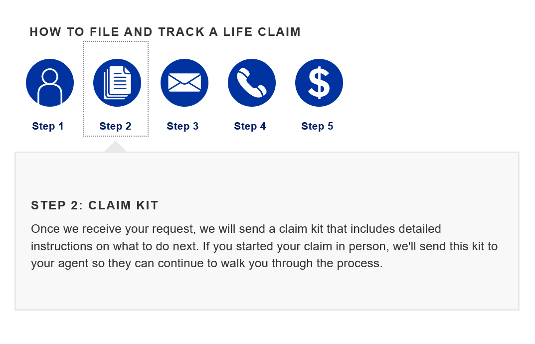 Allstate Make a Claim Step 2