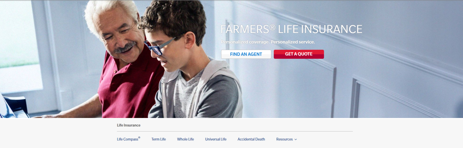 Farmers New World Life Home Page