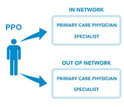 PPO - Preferred Provider Organization