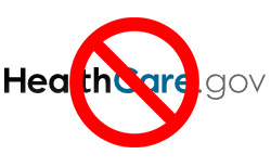 No Healthcare.gov