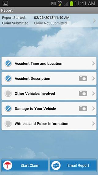 Travelers Insurance Mobile App Claims