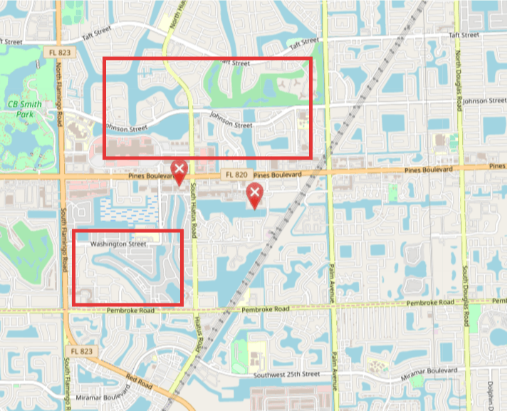 areas with highest crime rates pembroke pines