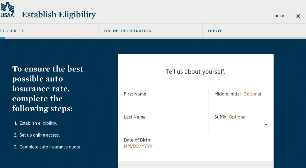 usaa eligibility to apply for auto insurance