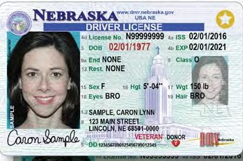 Nebraska Real-id example