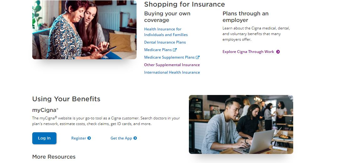 Cigna Online Quote Step 2