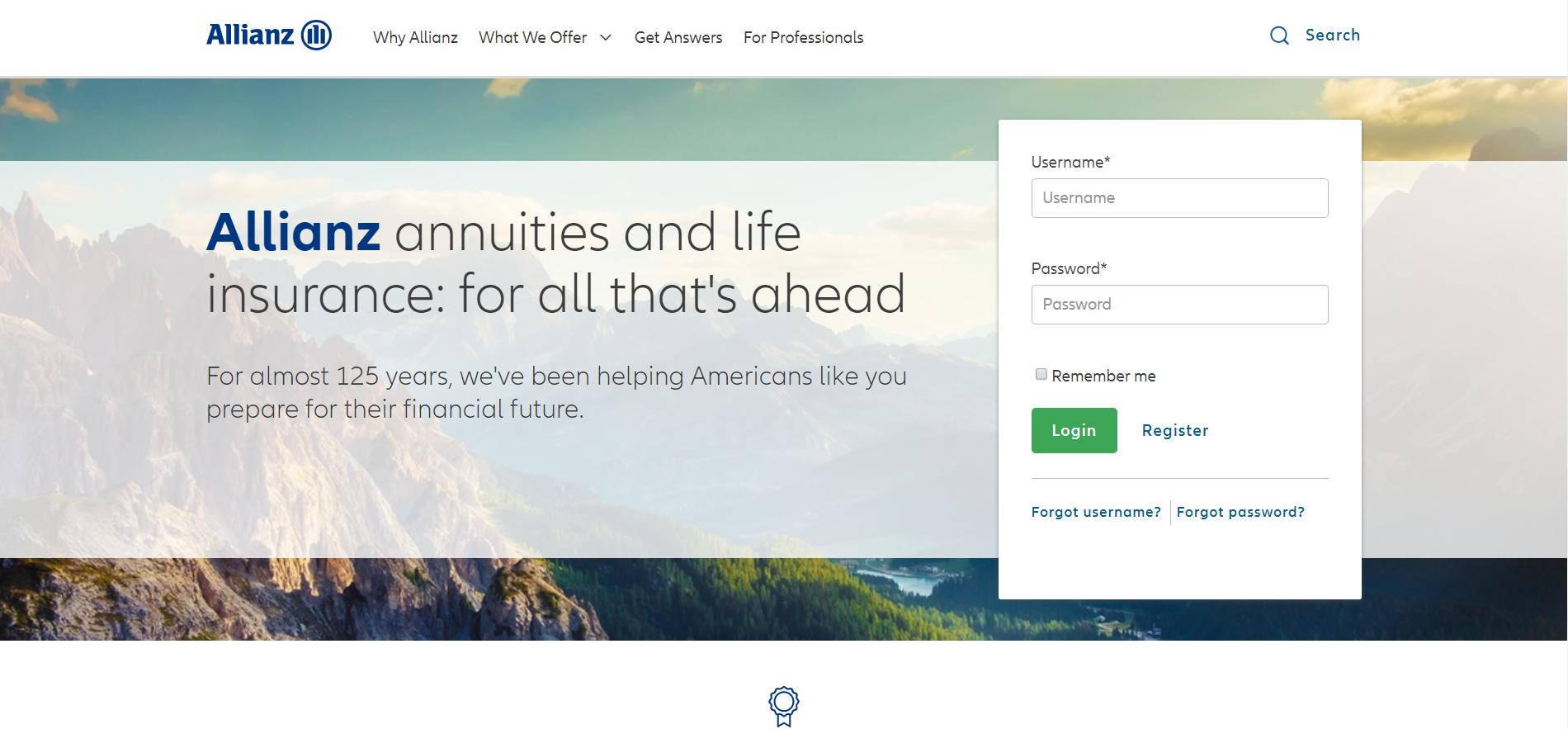 Allianz Get a quote online