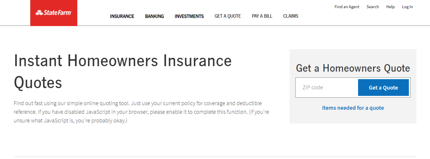State Farm Home Insurance Guide (Review + Coverage)
