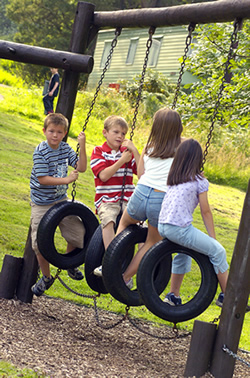 Children Playing & Medical Payments Coverage for Children