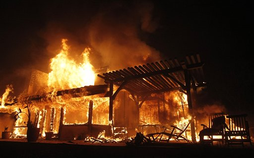 Home Fire Total Loss & Home Insurance