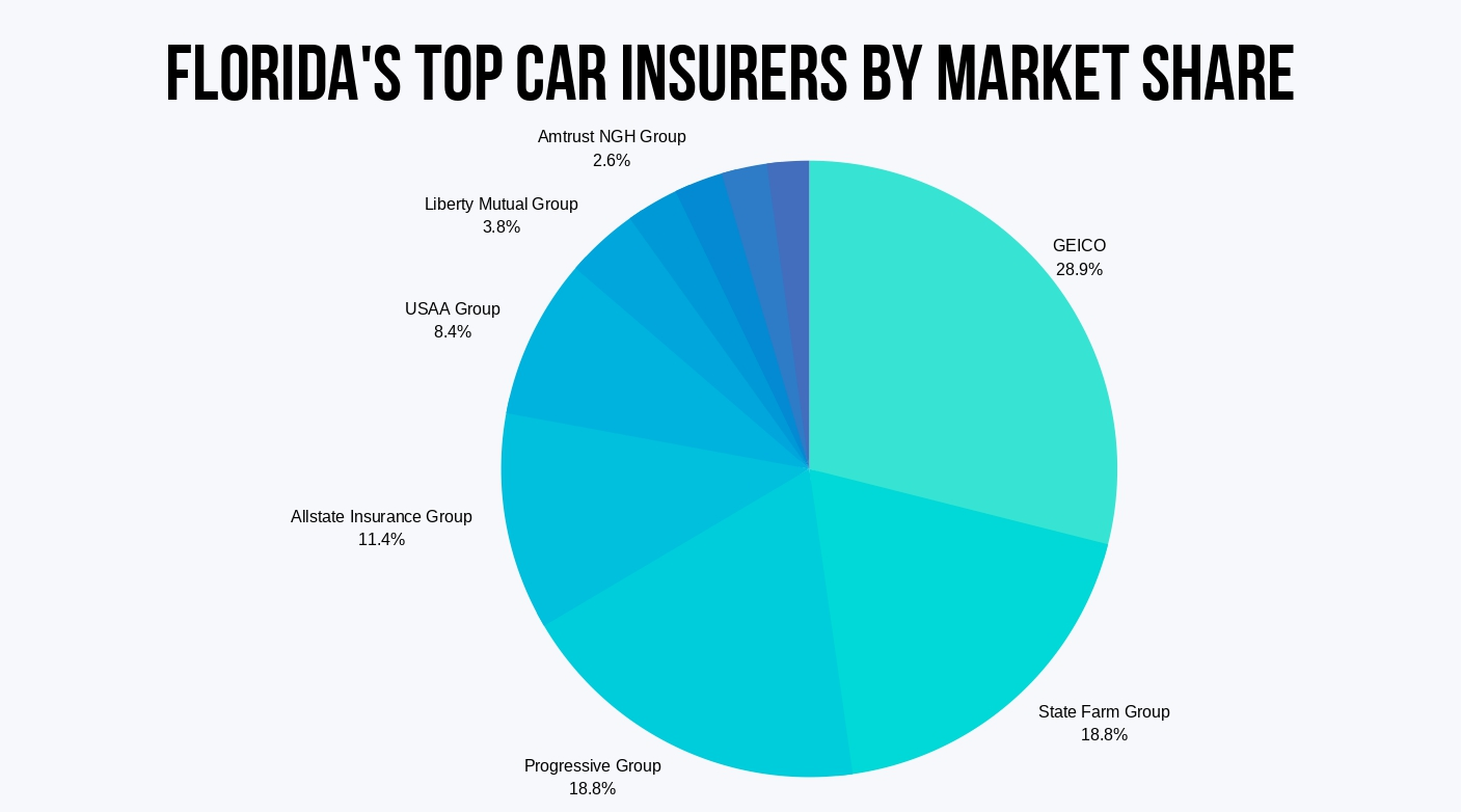 Florida Top Insurers by Market Share