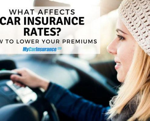 Factors That Affect Car Insurance Rates