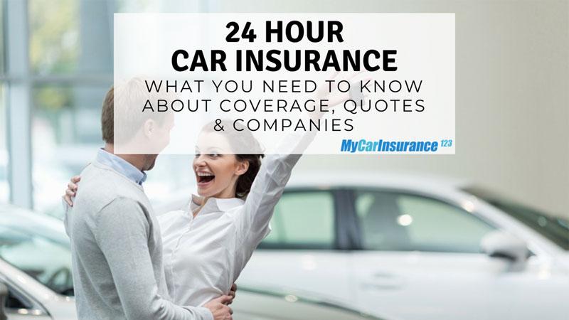 24 Hour Car Insurance