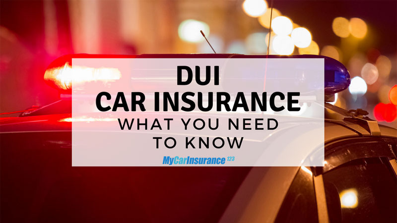 DUI Car Insurance