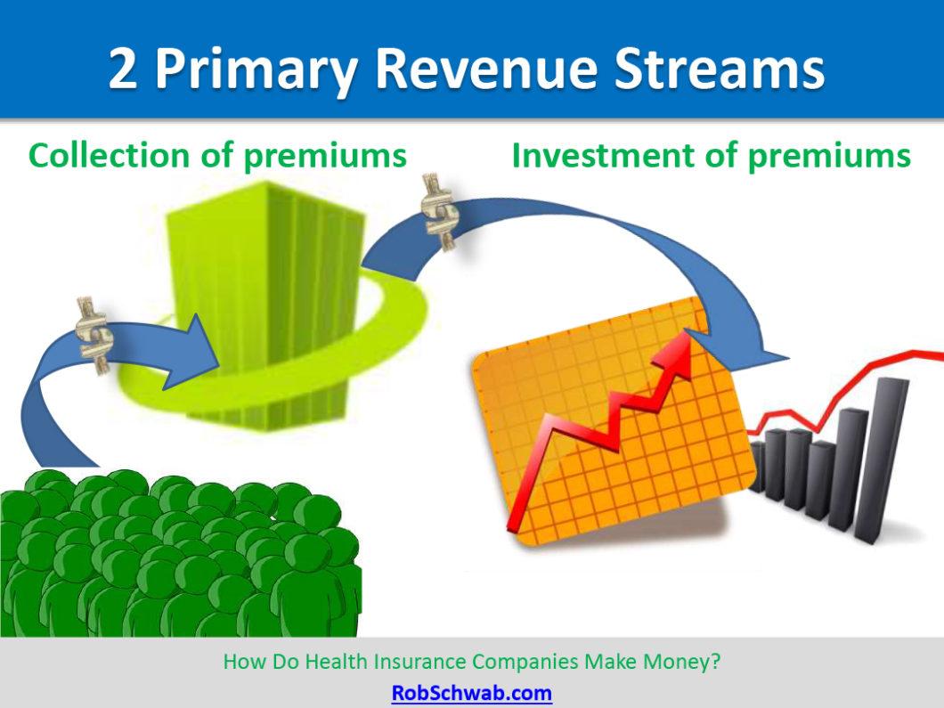 2 Primary Life Insurance Company Revenue Streams