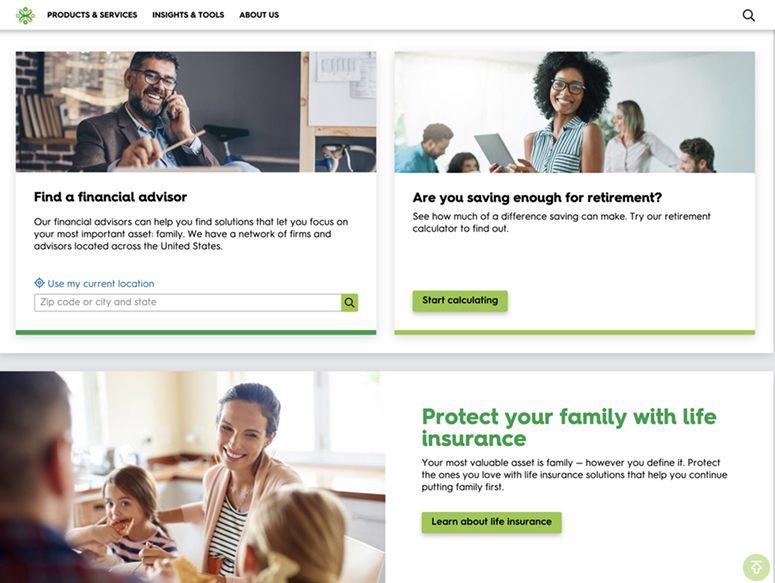 Minnesota Life (Securian Financial) Website Find a Financial Advisor