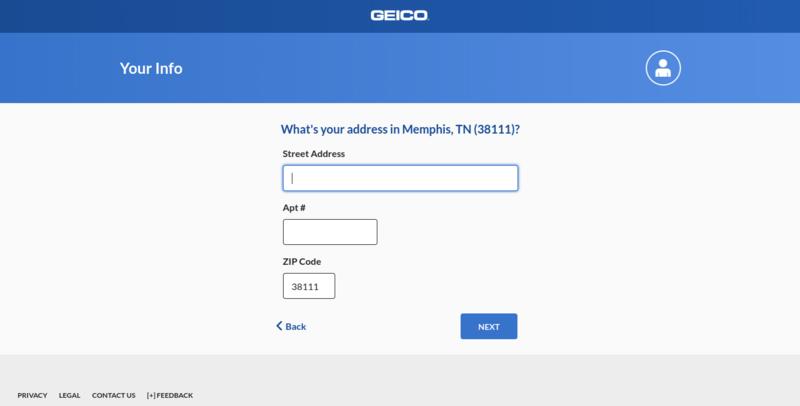 Geico Get a Quote Address
