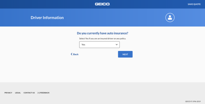 Geico Get a Quote Have Insurance Currently