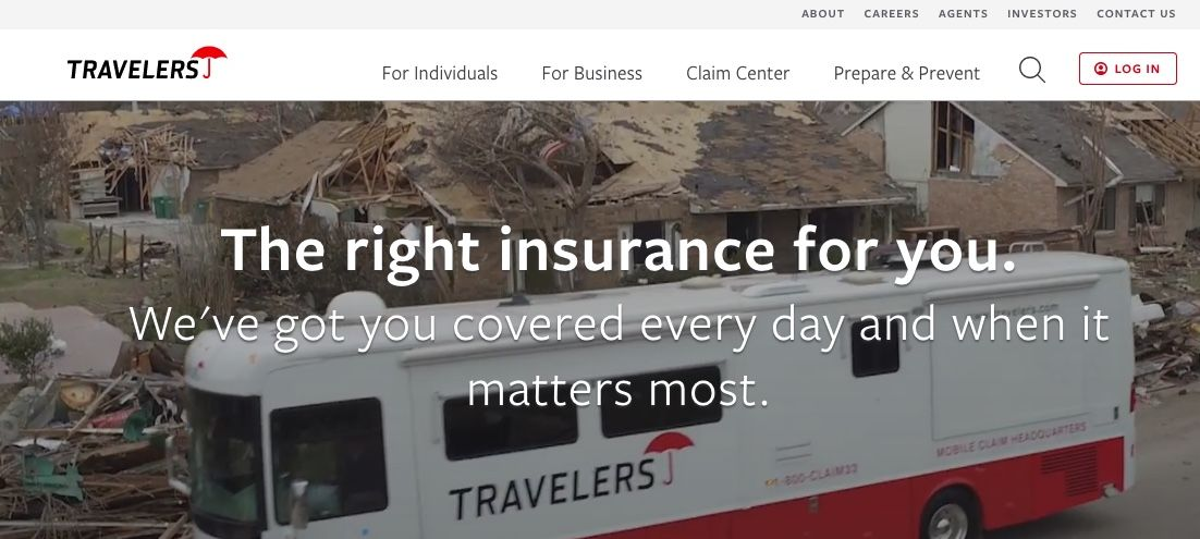 Travelers Main page