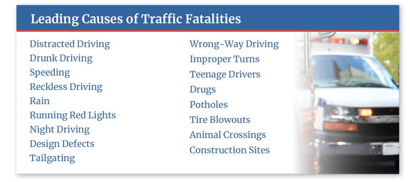 Leading Causes of Traffic Crashes