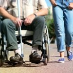 wheelchair, cane, walking assistance, wheels, walking,