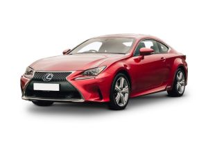 Lexus RC COUPE SPECIAL EDITIONS 300h 2.5 F-Sport Black Edition 2dr CVT