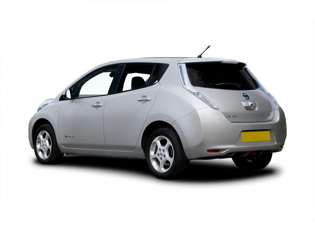 nissan leaf hatchback 80kw visia 24kwh 5dr auto charger go green leasing. Black Bedroom Furniture Sets. Home Design Ideas