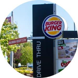 burger king self-driving cars