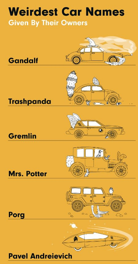 What's The Most Popular Car Name?