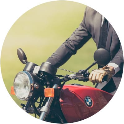 Motorbike trade insurance