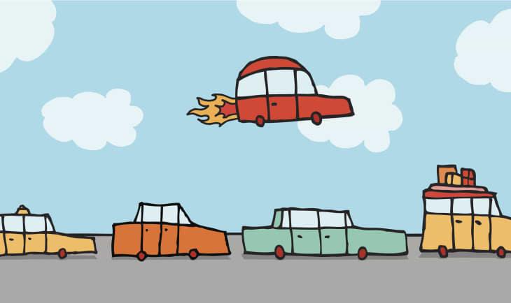 flyigncar
