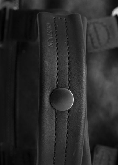 Impressionen daypack graphite leather 04