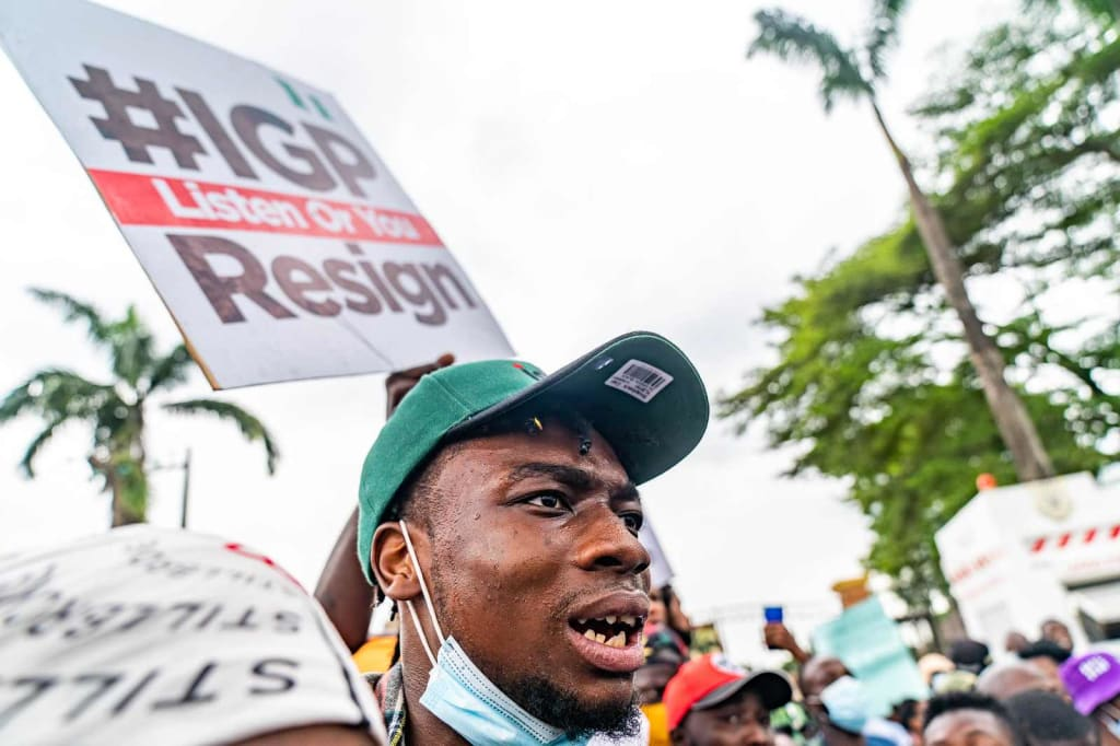 end sars protest