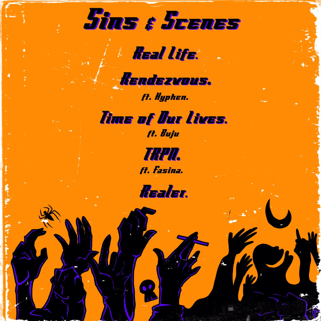 Loti and KD - Sins and Scenes Tracklist