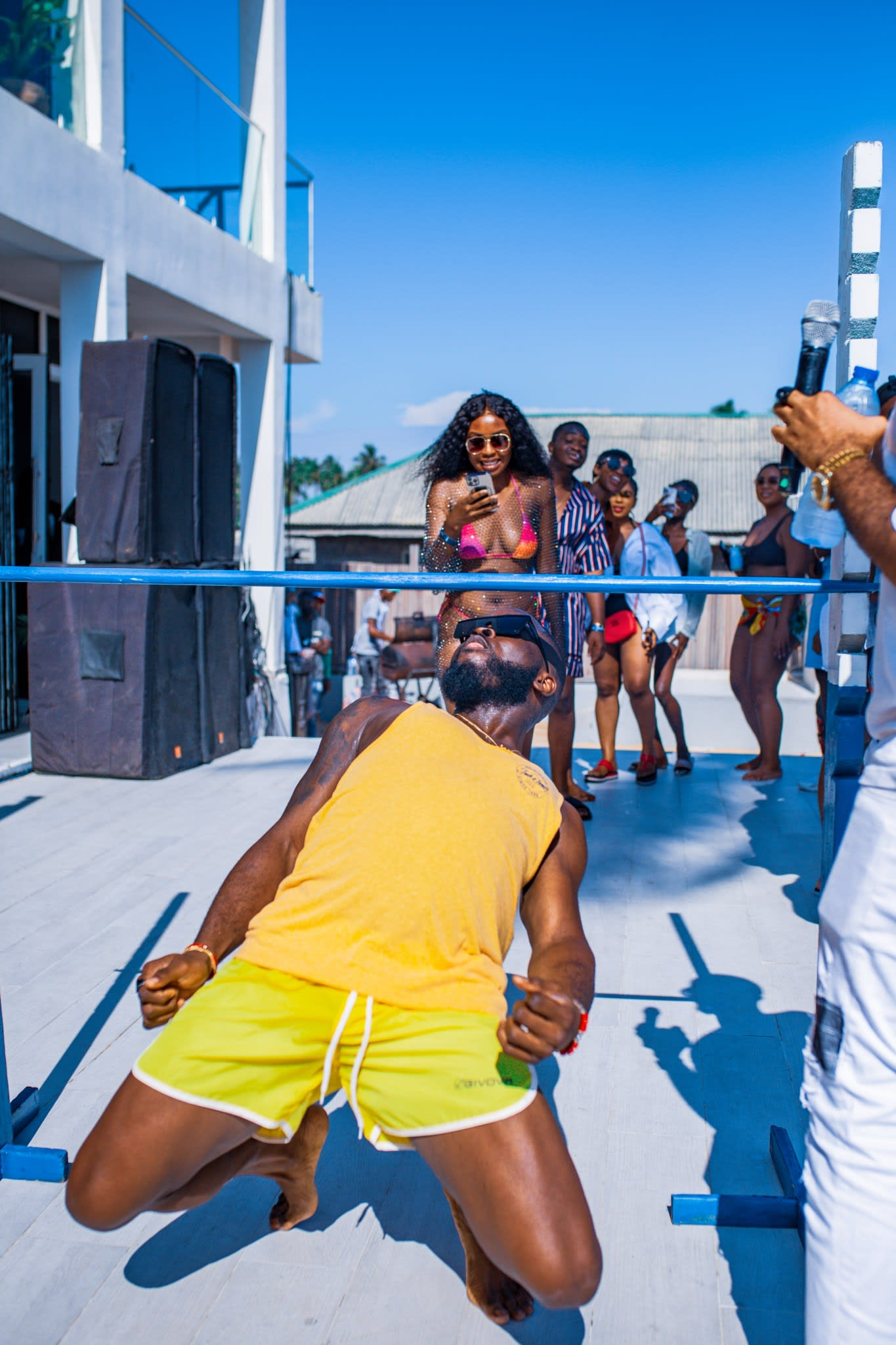 sunky on ciroc party island