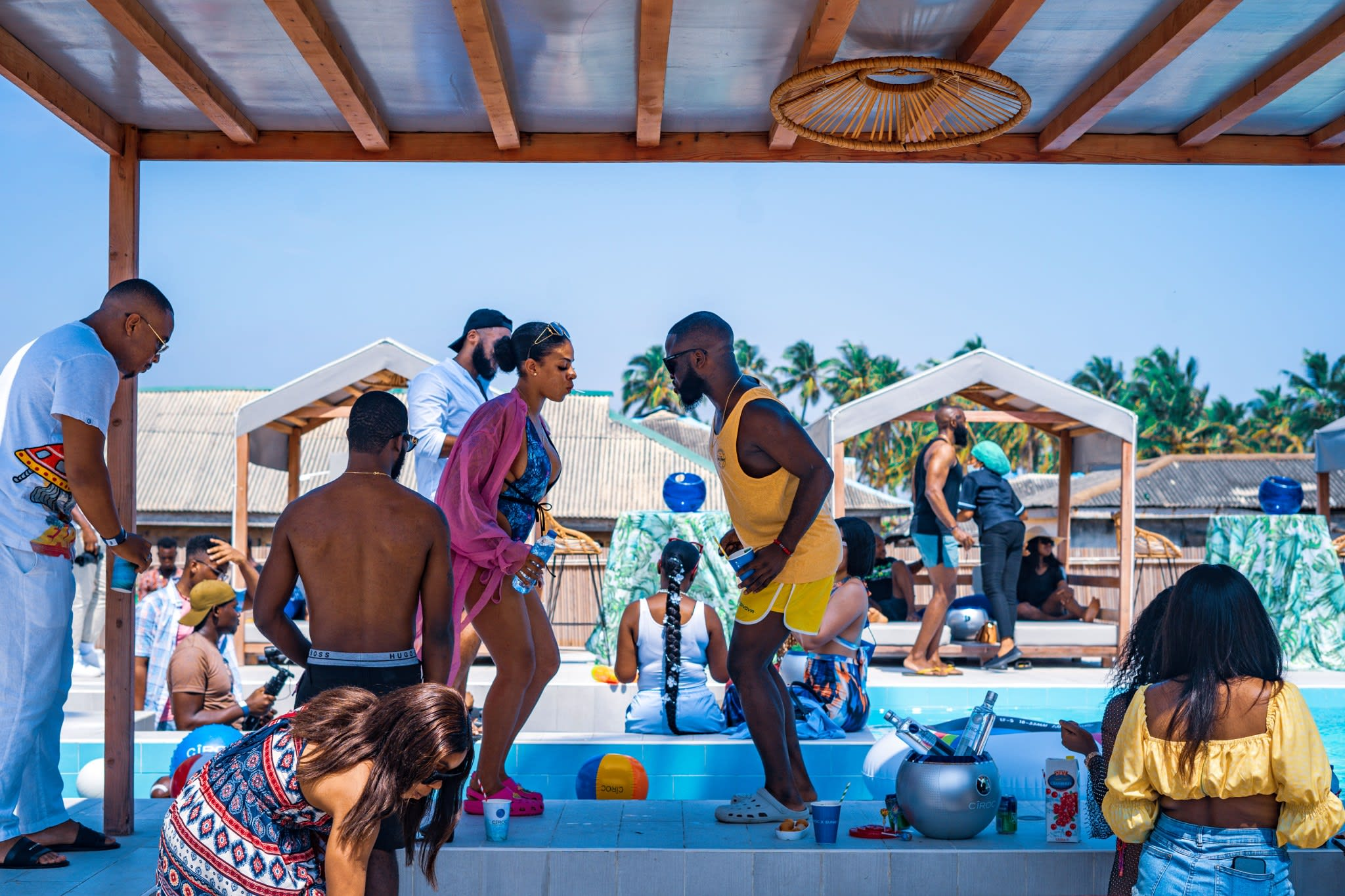 sunky ciroc party island