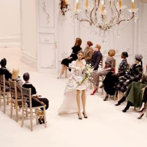 Moschino puppet fashion show