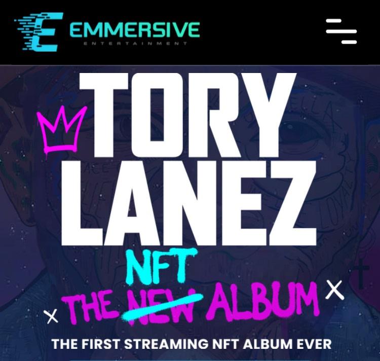Tory Lanez first NFT music streaming album