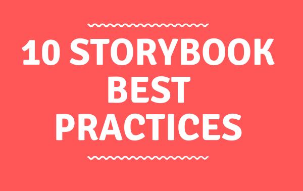 Text 10 Storybook Best Practices