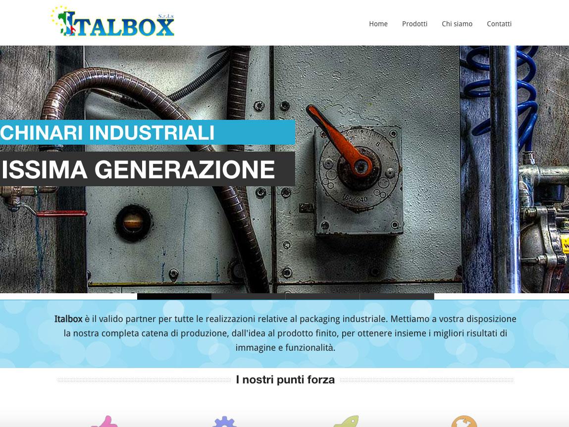 Sito web Italbox